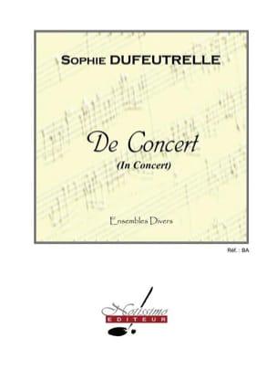 De concert Sophie Dufeutrelle Partition ENSEMBLES - laflutedepan