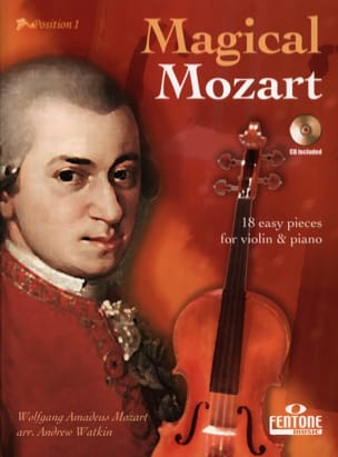 Magical Mozart - CD Inclus MOZART Partition Violon - laflutedepan