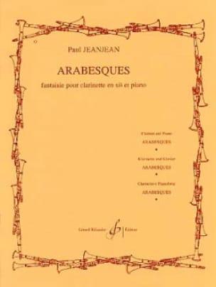 Arabesques - Paul Jeanjean - Partition - laflutedepan.com