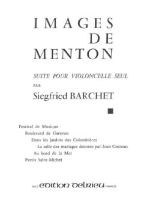 Images de Menton - Siegfried Barchet - Partition - laflutedepan.com