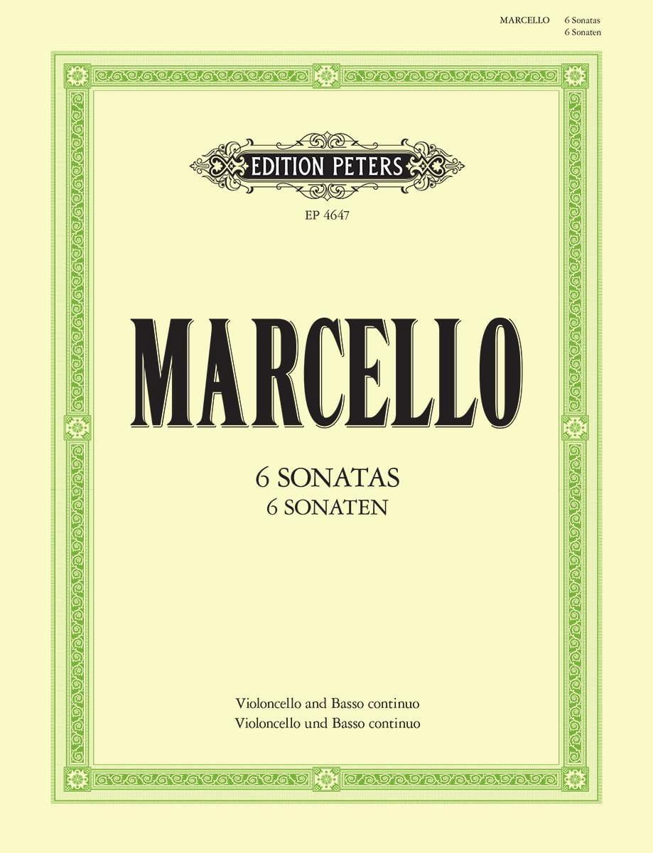 6 Sonaten - Benedetto Marcello - Partition - laflutedepan.com