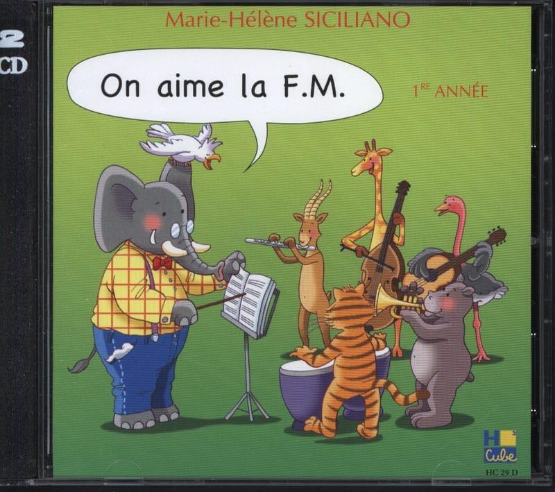 CD - On Aime la FM Volume 1 - SICILIANO - Partition - laflutedepan.com