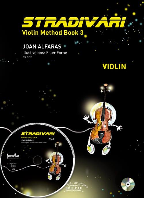 Stradivari Vol. 3 - Joan Alfaras - Partition - laflutedepan.com