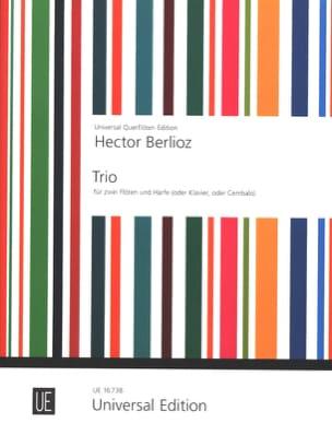 Trio des Ismaëlites - 2 Flûtes et Harpe BERLIOZ Partition laflutedepan