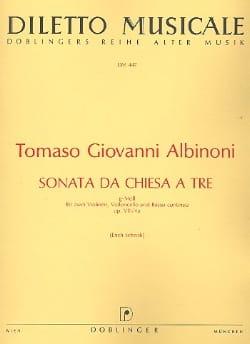 Sonata da chiesa a tre g-moll op. 8 n° 4a -Stimmen laflutedepan