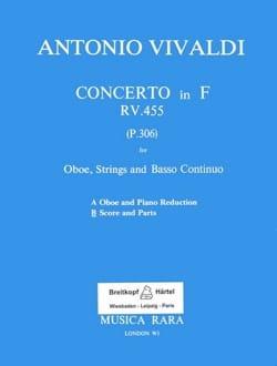 Concerto in F major RV 455 - Oboe strings Bc VIVALDI laflutedepan