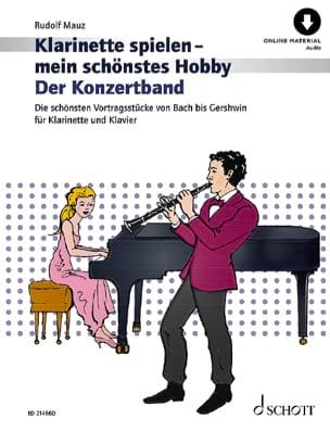 Der Konzertband - Clarinette et piano Rudolf Mauz laflutedepan