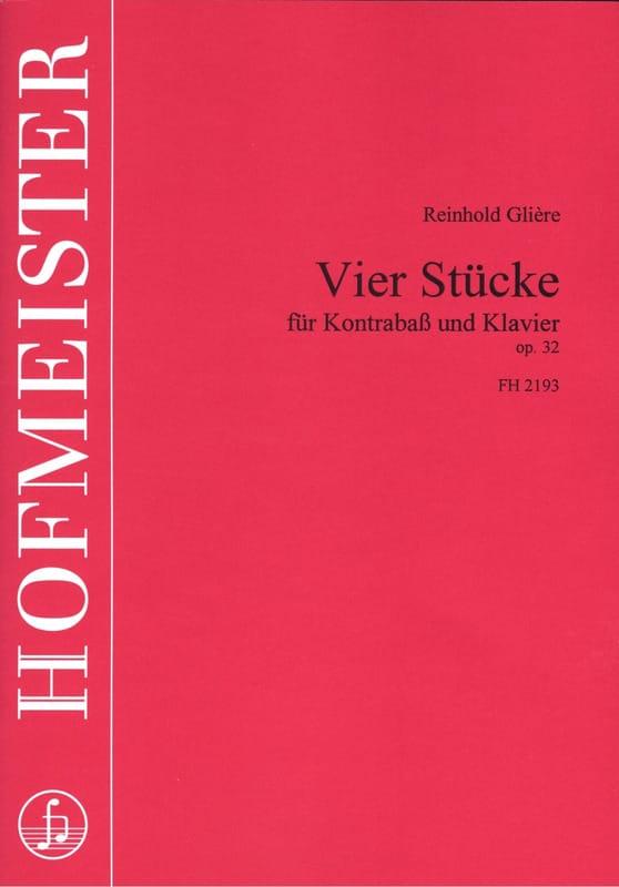4 Stücke op. 32 - Reinhold Glière - Partition - laflutedepan.com