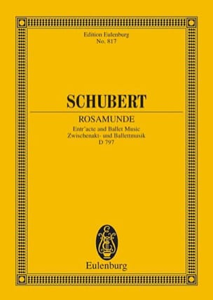 Rosamunde, op. 26 D 797 - SCHUBERT - Partition - laflutedepan.com