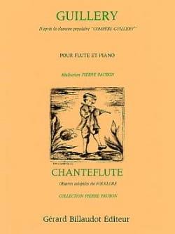 Guillery - Flûte et piano Pierre Paubon Partition laflutedepan