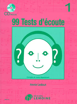 99 Tests D'écoute Volume 1 Annie Ledout Partition laflutedepan