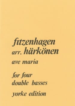 Ave Maria - 4 String basses - laflutedepan.com