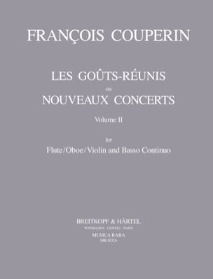 Les goûts réunis, Volume 2 - Flute / oboe / violin and Bc laflutedepan