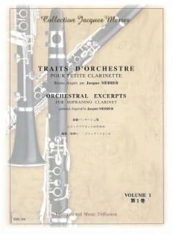 Traits D'orchestre Vol 1 Pour Petite Clarinette En Mi Bémol laflutedepan
