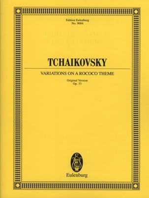 Variations on a Rococo Theme, Opus 33 TCHAIKOVSKY laflutedepan