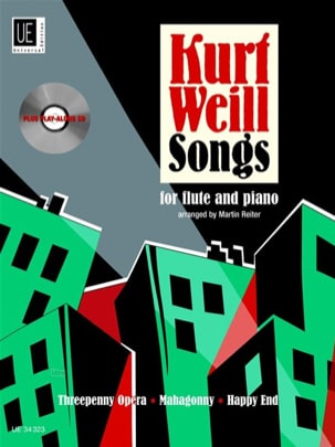 Kurt Weill Songs for Flute and Piano WEILL Partition laflutedepan