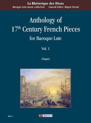 Anthology of 17th Century French Pieces vol. 1 - Luth Baroque laflutedepan