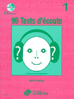 99 Tests D'écoute Volume 1 - Annie Ledout - laflutedepan.com