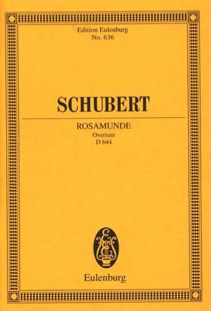 Rosamunde, op. 26 D 644 Ouvertüre - Partitur SCHUBERT laflutedepan