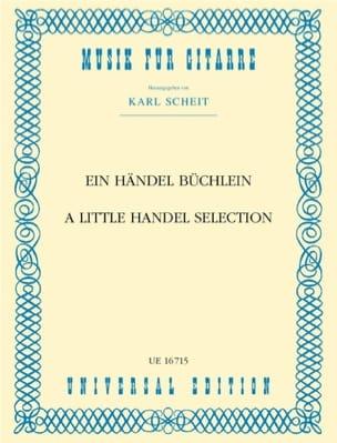 Ein Händel Büchlein HAENDEL Partition Guitare - laflutedepan