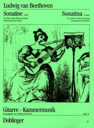 Sonatine d-Moll - Violine o. Flöte Gitarre - laflutedepan.com