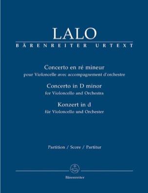 Concerto en Ré Mineur pour Violoncelle et Orchestre LALO laflutedepan