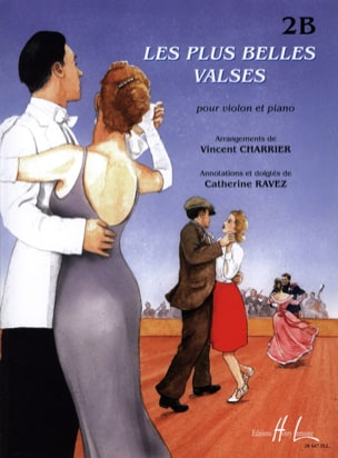 Les Plus Belles Valses Vol.2b Vincent Charrier Partition laflutedepan