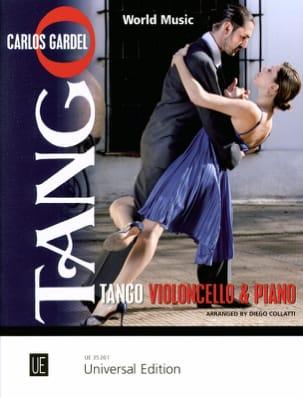 Tango Carlos Gardel Partition Violoncelle - laflutedepan