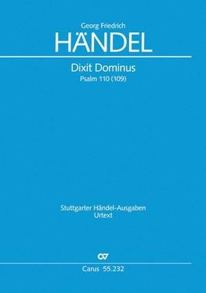 Dixit Dominus, HWV 232 - HAENDEL - Partition - laflutedepan.com