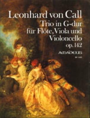 Trio Opus 142 - Leonhard von Call - Partition - laflutedepan.com