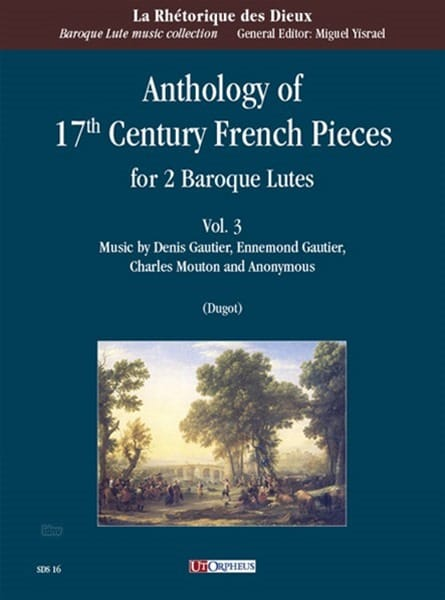 Anthology of 17th century French Pieces vol. 3 - 2 Luths - laflutedepan.com