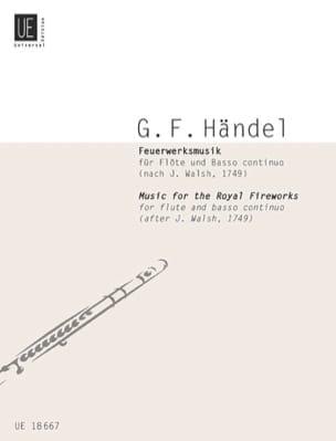 HAENDEL - Feuerwerksmusik - Partition - di-arezzo.com