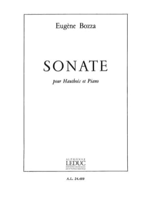 Sonate - Hautbois et piano Eugène Bozza Partition laflutedepan