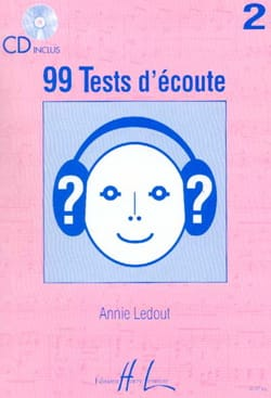 Annie Ledout - 99 Volume 2 listening tests - Partition - di-arezzo.co.uk