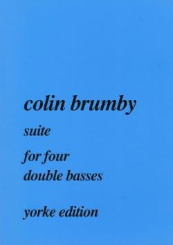 Suite for four double basses Colin Brumby Partition laflutedepan