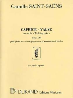 Caprice-Valse Op.76 SAINT-SAËNS Partition Sextuors - laflutedepan