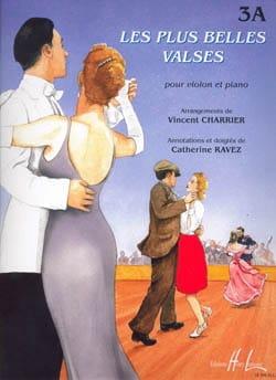 Les plus belles valses - 3A Vincent Charrier Partition laflutedepan