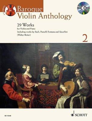 Baroque Violon Anthology 2 Partition Violon - laflutedepan