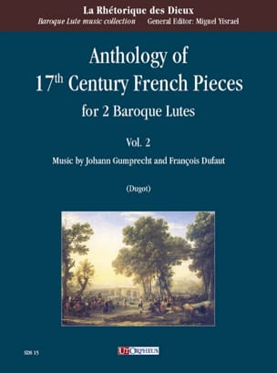 Anthology of 17th Century French Pieces vol. 2 - 2 Luths laflutedepan