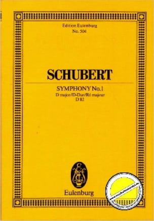 Symphonie Nr. 1 D-Dur D82 - Partitur - SCHUBERT - laflutedepan.com