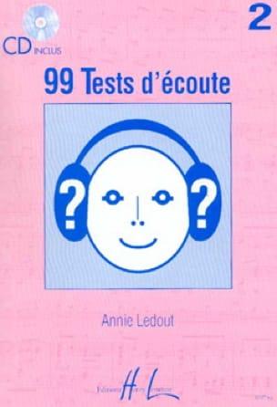 99 Tests D'écoute Volume 2 - Annie Ledout - laflutedepan.com