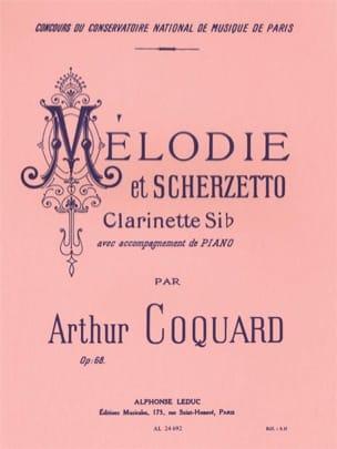 Melodie et Scherzetto op. 68 Arthur Coquard Partition laflutedepan