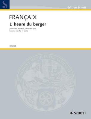 L'heure du berger - 5 vents piano -Parties FRANÇAIX laflutedepan