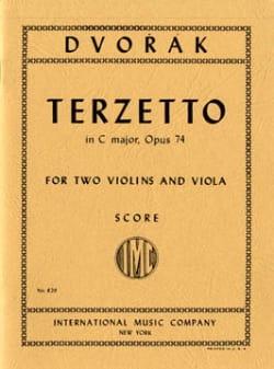 DVORAK - Terzetto in C major op. 74 - Score - Partition - di-arezzo.co.uk