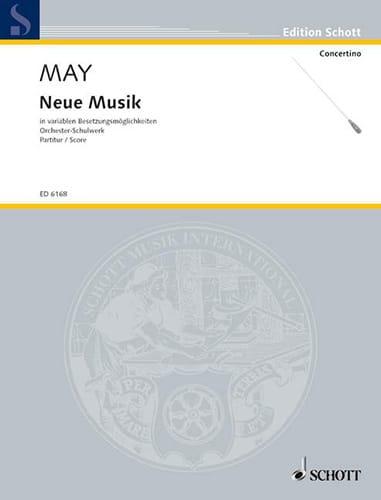 Neue Musik - Conducteur - Partition - laflutedepan.com