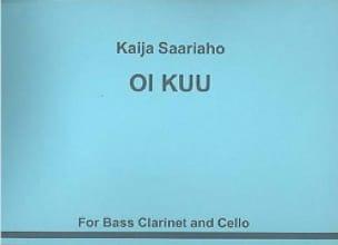 Oi Kuu 1990 - Kaija Saariaho - Partition - Duos - laflutedepan.com