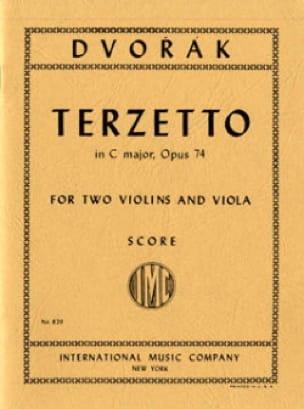 Terzetto in C major op. 74 - Score - DVORAK - laflutedepan.com