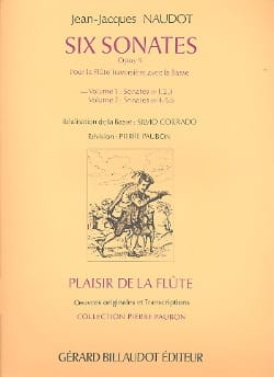 6 Sonates op. 9 - Volume 1 - Flûte Bc - laflutedepan.com