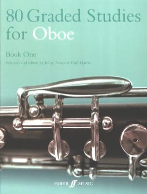 80 Graded studies for oboe - Book 1 laflutedepan