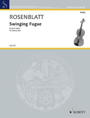 Swinging Fugue - Violon solo - Alexander Rosenblatt - laflutedepan.com